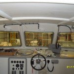 Wheelhouse windows fitted