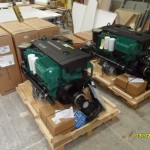 Volvo engine package on site
