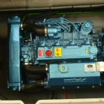 115Hp large displacement 4 cyl Nanni diesel