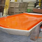 Custom length orange roof